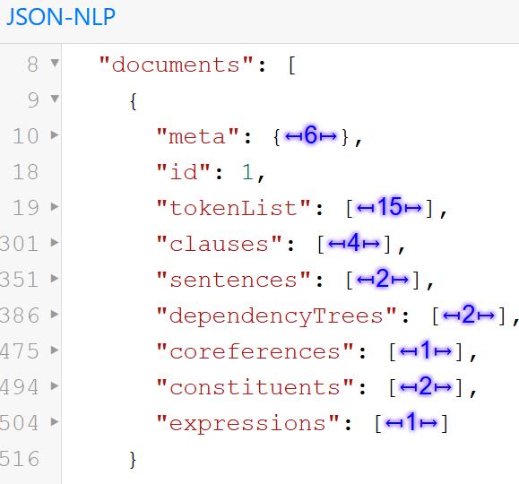 JSON-NLP Folding Viewer
